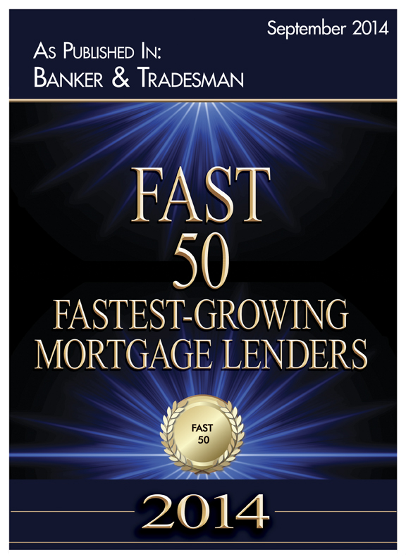 Fast 50 - Fasted Growing Mortgage Lenders